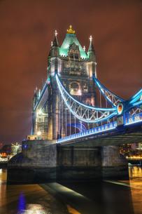 Tower bridge in London, Great Britainの写真素材 [FYI00743586]