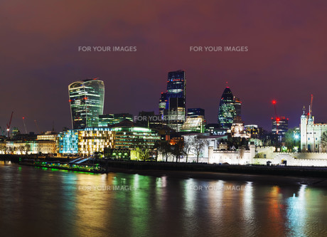 Financial district of the City of Londonの写真素材 [FYI00743600]