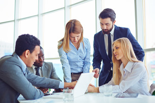 Business communicationの写真素材 [FYI00744098]