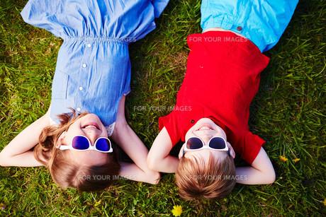 Summer relaxの写真素材 [FYI00744101]