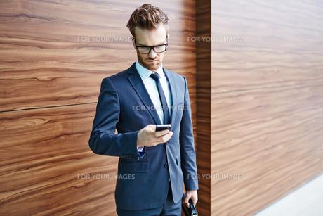 Mobile communicationの写真素材 [FYI00744118]
