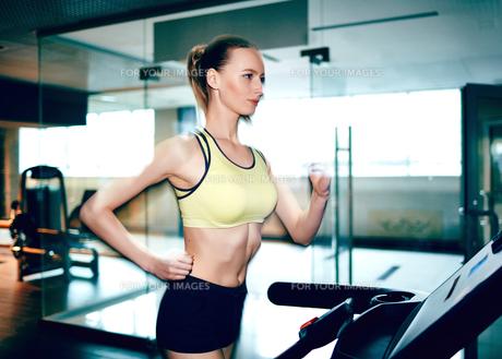 Fitnessの写真素材 [FYI00744132]