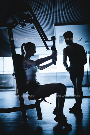 Fitness on facilitiesの素材 [FYI00744140]