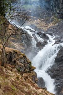 waterfall in Norwayの写真素材 [FYI00744462]
