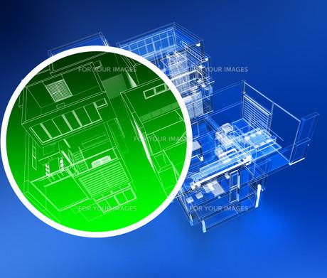 Building monitoringの写真素材 [FYI00744873]