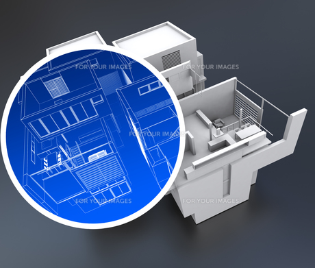 Home automation systemの写真素材 [FYI00744902]