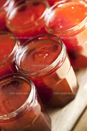 Apricot jamの写真素材 [FYI00744931]