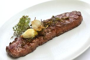 Beef steakの写真素材 [FYI00744943]