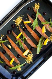 Salmon dishの写真素材 [FYI00744947]