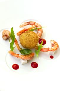 Shrimp and riceの写真素材 [FYI00744953]