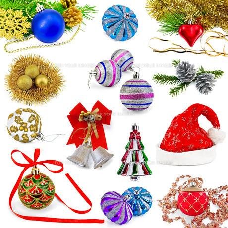 Christmas toys setの写真素材 [FYI00745155]