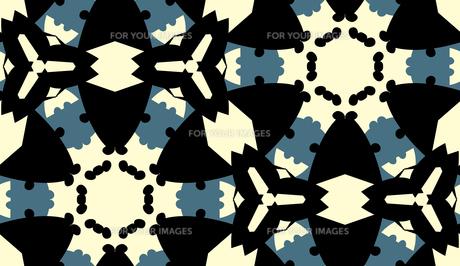 Seamless Round Triangular Shapesの素材 [FYI00745518]
