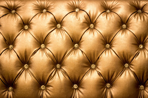 close up brown Leather texture Backgroundの写真素材 [FYI00745681]