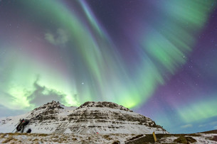 Northern Light Aurora Icelandの写真素材 [FYI00745883]