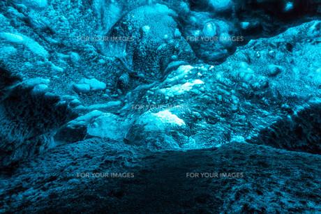 Ice Cave Icelandの素材 [FYI00745894]