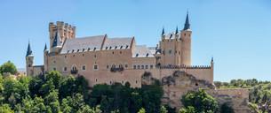 Alcazar of Segovia Spainの写真素材 [FYI00745903]