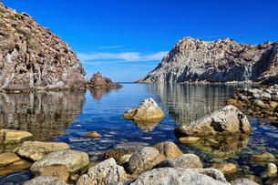 Sardinia - Calafico bayの写真素材 [FYI00746202]