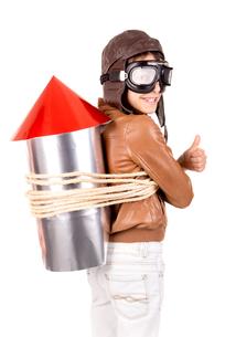Rocket boyの写真素材 [FYI00746237]