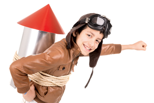 Rocket boyの写真素材 [FYI00746241]