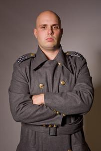 russian militaryの写真素材 [FYI00746370]