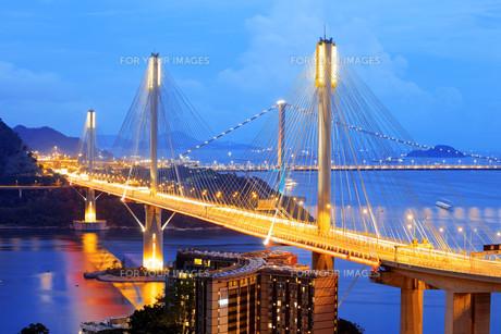 highway bridgeの写真素材 [FYI00746565]