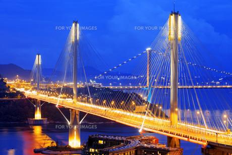 highway bridgeの写真素材 [FYI00746570]