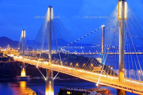 highway bridgeの写真素材 [FYI00746575]