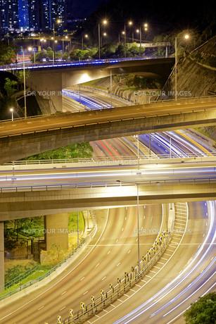 Highway roadの写真素材 [FYI00746577]