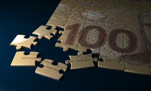 Canadian Dollar Puzzleの写真素材 [FYI00746783]