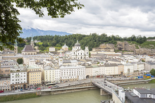 view on salzburg,austriaの素材 [FYI00746887]