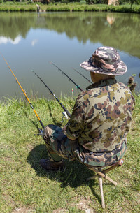 Man fishingの素材 [FYI00747684]