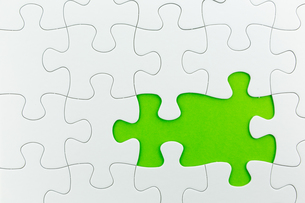 jigsaw puzzle use for business backgroundの写真素材 [FYI00748085]