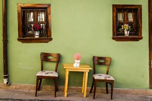 Green Traditional Turkish Houseの写真素材 [FYI00748140]