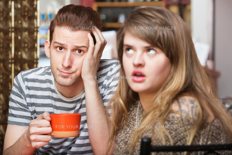 Couple with Communication Problemの写真素材 [FYI00748275]