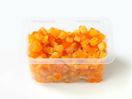 Candied citrus peelの写真素材 [FYI00748583]
