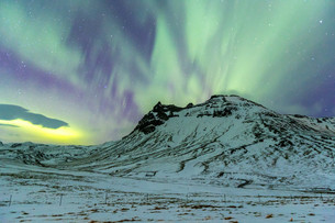 The Northern Light Aurora borealisの写真素材 [FYI00748842]