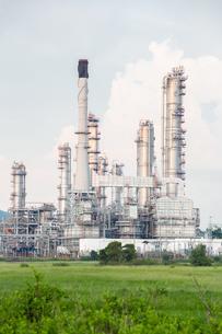 Oil Refinery Plantの写真素材 [FYI00748853]
