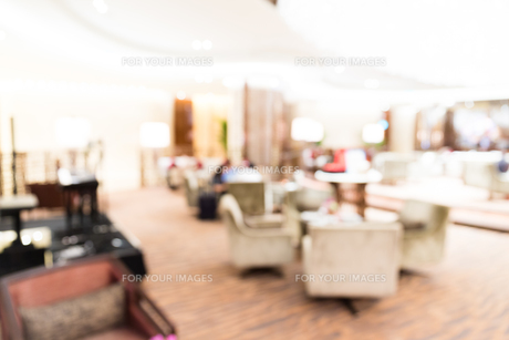 Coffee cafe shop with bokeh backgroundの写真素材 [FYI00749322]
