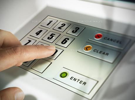 Automated Teller Machine, ATMの写真素材 [FYI00749336]