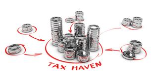 Tax Evasion Conceptの写真素材 [FYI00749347]