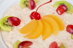 Tasty oatmealの写真素材 [FYI00749629]