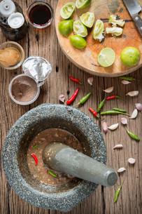 shrimp paste chilli sauceの写真素材 [FYI00749714]