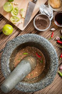shrimp paste chilli sauceの写真素材 [FYI00749718]