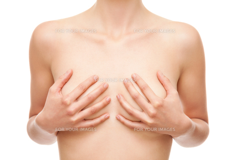 Breast cancer healthcare and medical conceptの写真素材 [FYI00749776]