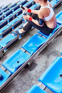 Leisure at stadiumの写真素材 [FYI00749944]