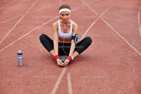 Fitnessの写真素材 [FYI00750102]