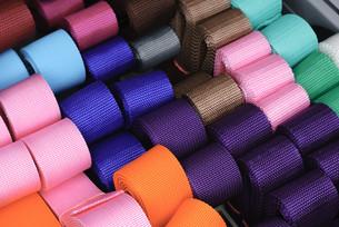 Textile beltsの写真素材 [FYI00750120]