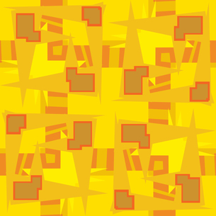 Abstract Yellow Rectangular Shapesの素材 [FYI00750567]