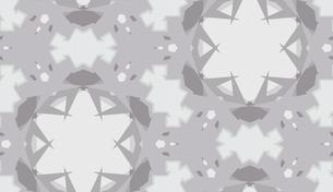 Gray Abstract Kaleidoscope Backgroundの素材 [FYI00750575]