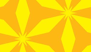 Abstract Yellow and Orange Star Shapeの素材 [FYI00750579]